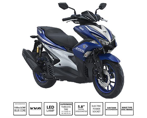 Kredit Motor Yamaha Aerox 155VVA R-Version
