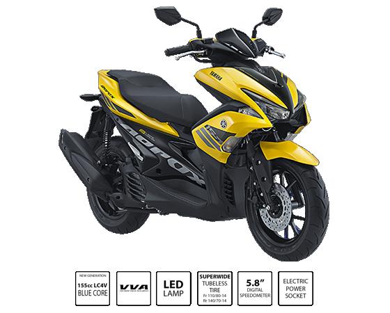 Kredit Motor Yamaha Aerox 155Vva