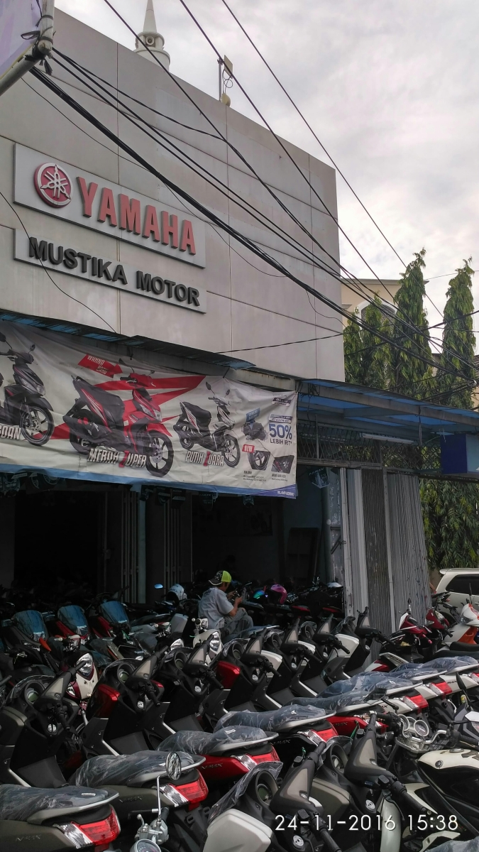 Dealer Resmi Yamaha Mustika Motor - Harga Cash Kredit Motor Yamaha
