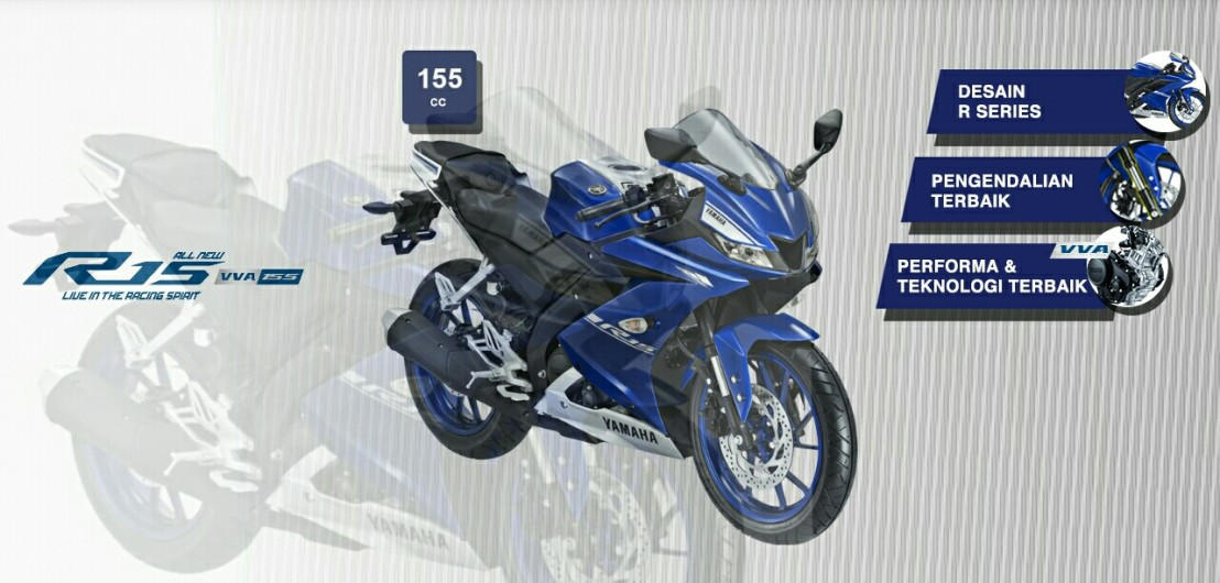 New Yamaha R15VVA