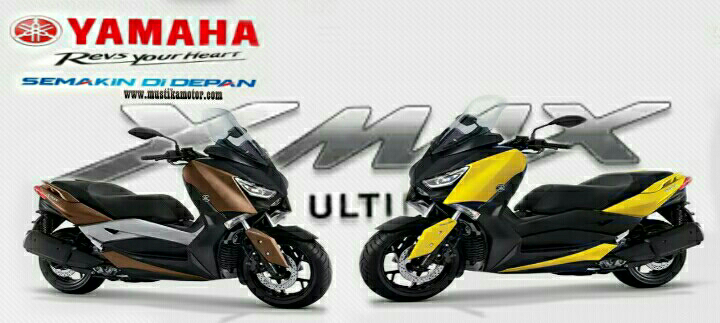 New Yamaha XMAX 250 Fitur dan Harga juni2017