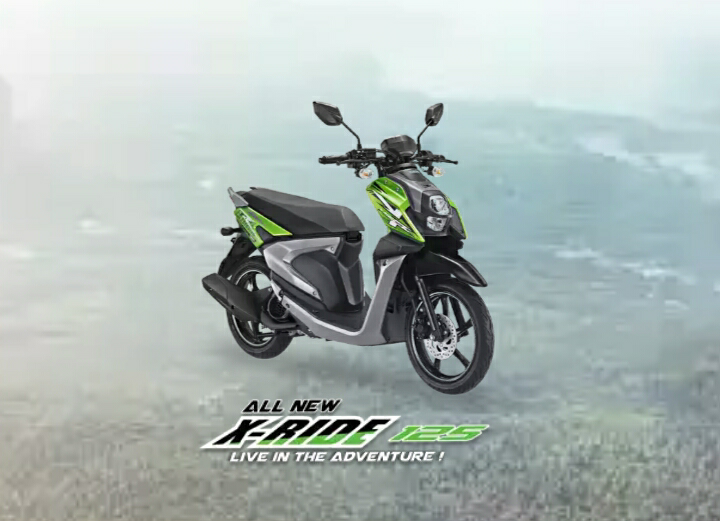 All New Yamaha Xride 125